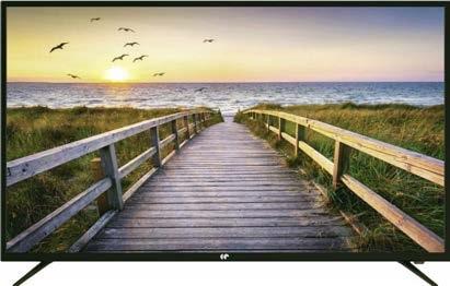 """TV 50"""" Continental Edison - 4K UHD, 3x HDMI, 2x USB, Port optique"""