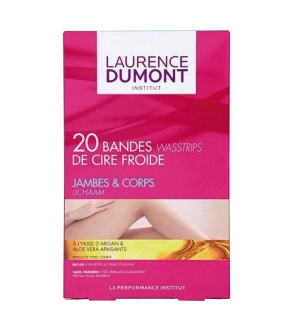 Boîte de 20 bandes de cire froide Laurence Dumont Jambes et Corps (via 2.28€ sur la carte de fidélité)