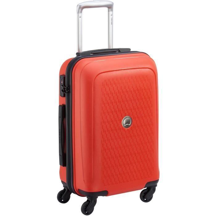[Cdiscount à volonté] Valise Cabine Delsey Tasman - 55 cm, 44 L, TSA, Orange