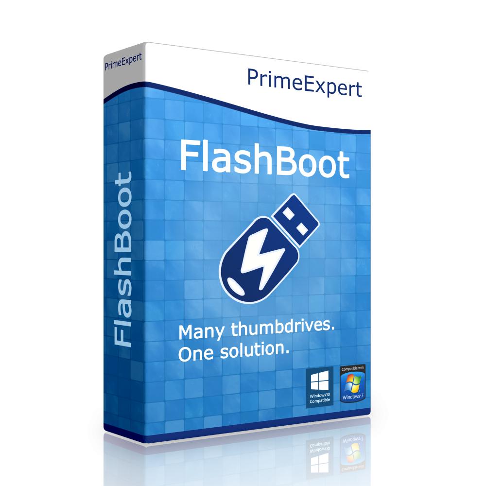 Logiciel FlashBoot Pro gratuit sur PC (Dématérialisé)