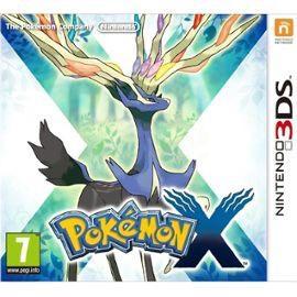 Pokémon X sur Nintendo 3DS