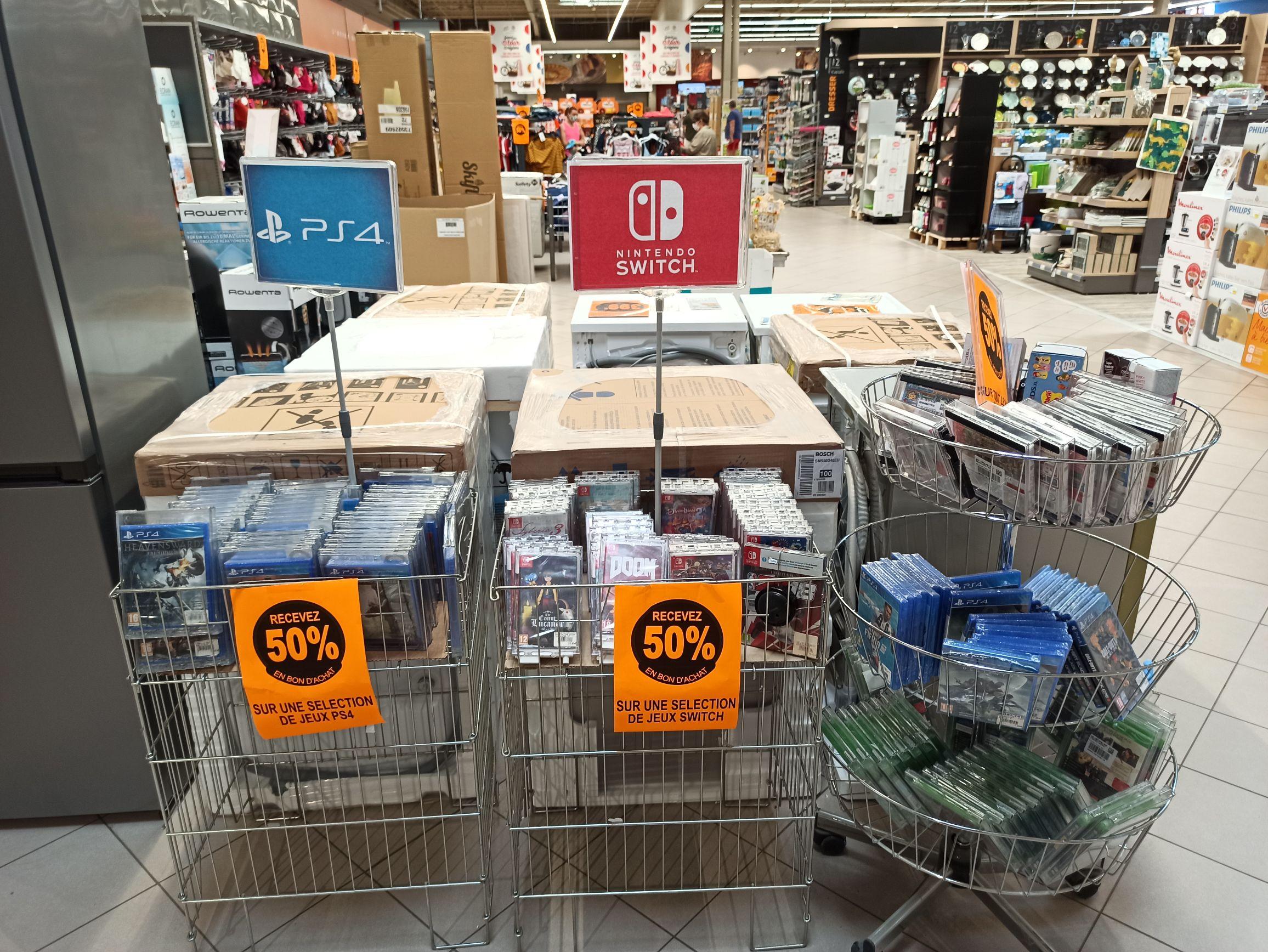 Sélection de jeux Nintendo Switch, PS4, Xbox One et 3DS en promotion - Dizy (51)