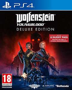 Wolfenstein: Youngblood Deluxe Edition sur PS4 (Import ES)