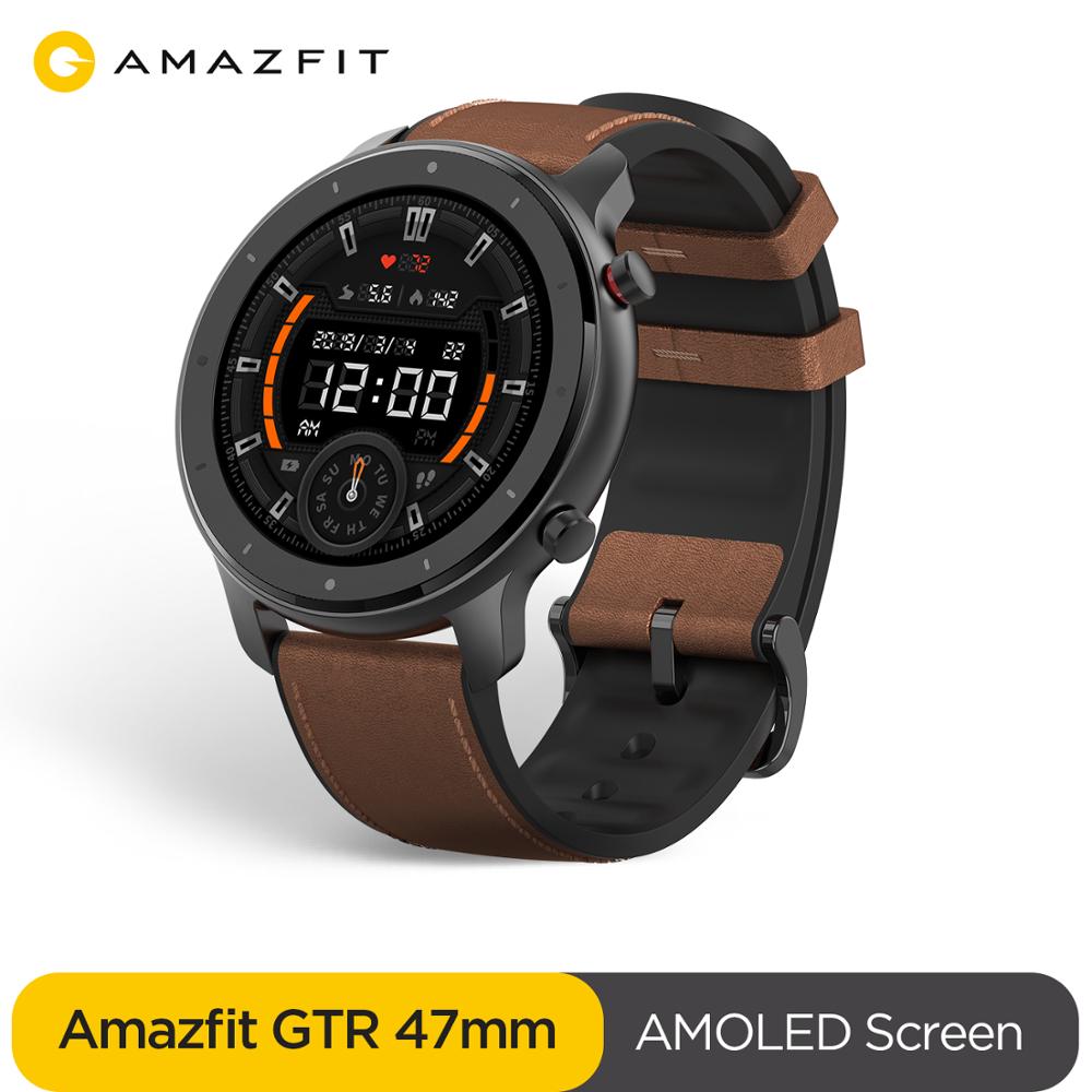 Montre connectée Amazfit GTR - 47 mm, Entrepôt Espagne (91,28€ avec le code IGRAAL715)