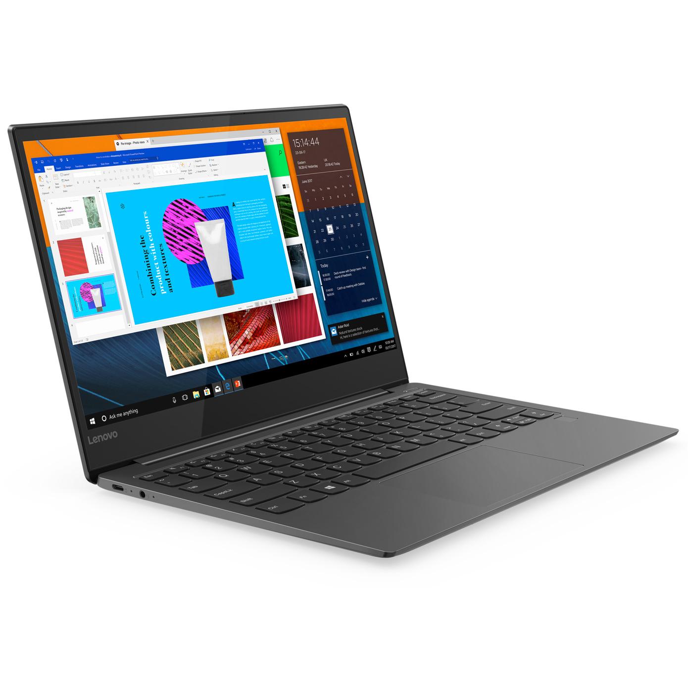 "PC Ultra-Portable 13.3"" Lenovo Yoga S730-13IWL 81J0001BFR - Full HD IPS, i7-8565U, RAM 8 Go, SSD 256 Go, Windows 10"