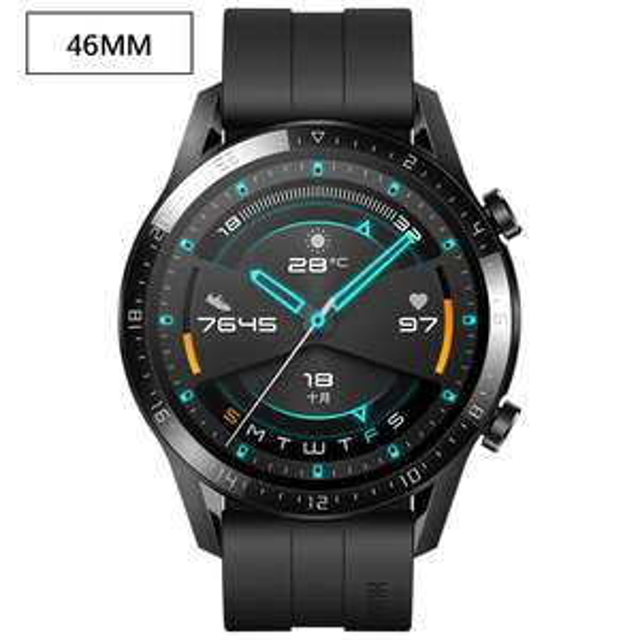 Montre connectée Huawei Watch GT2 - 46 mm, Entrepôt FR (123,65€ avec le code 10AE715)