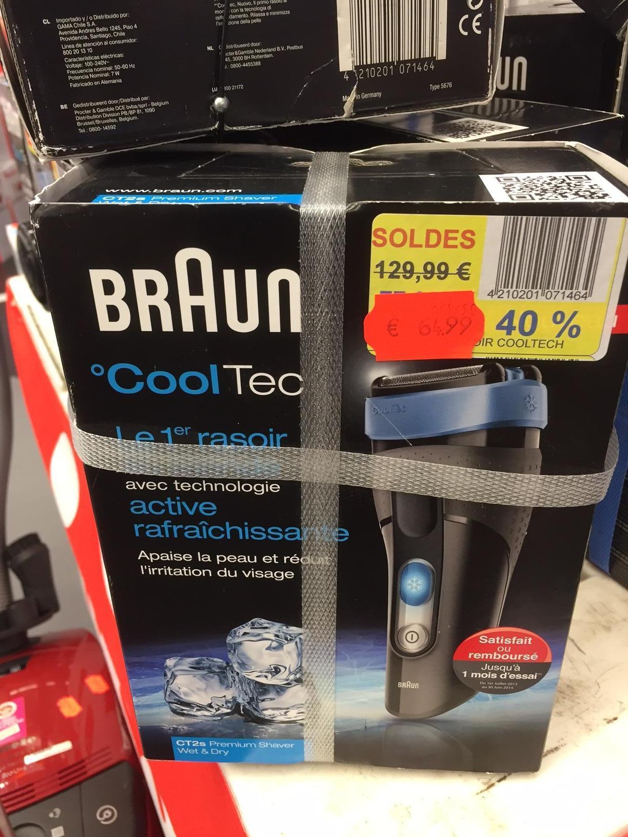 Rasoir électrique Braun CoolTec CT2s