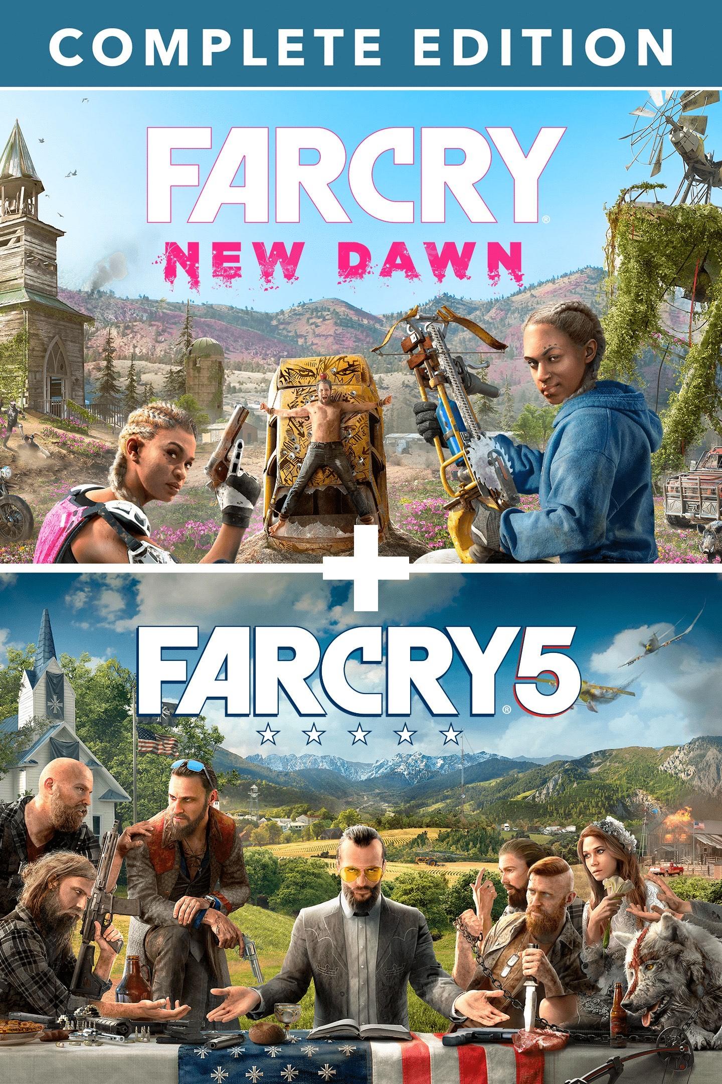 Pack Far Cry 5 + Far Cry New Dawn Edition Deluxe sur Xbox One (Dématérialisé)