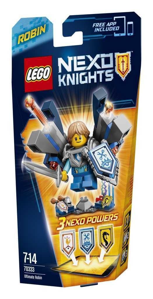 50% de réduction sur le deuxième produit Lego Nexo Knights acheté