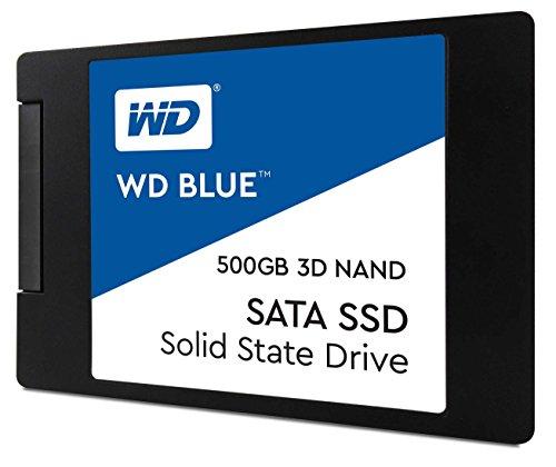 """SSD Interne 2.5"""" Western Digital WD Blue WDS500G2B0A (3D Nand) - 500Go"""