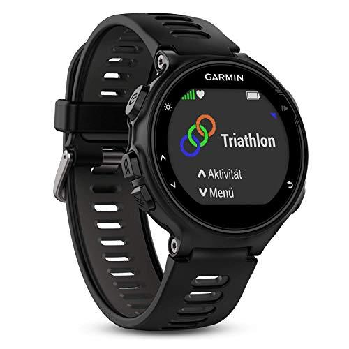 Montre Connectée Garmin Forerunner 735XT - GPS Multisports (Ecran : 1,23 pouces) - Noir/Gris