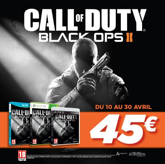 Call Of Duty Black Ops 2 PS3 , XBOX360 , WII U