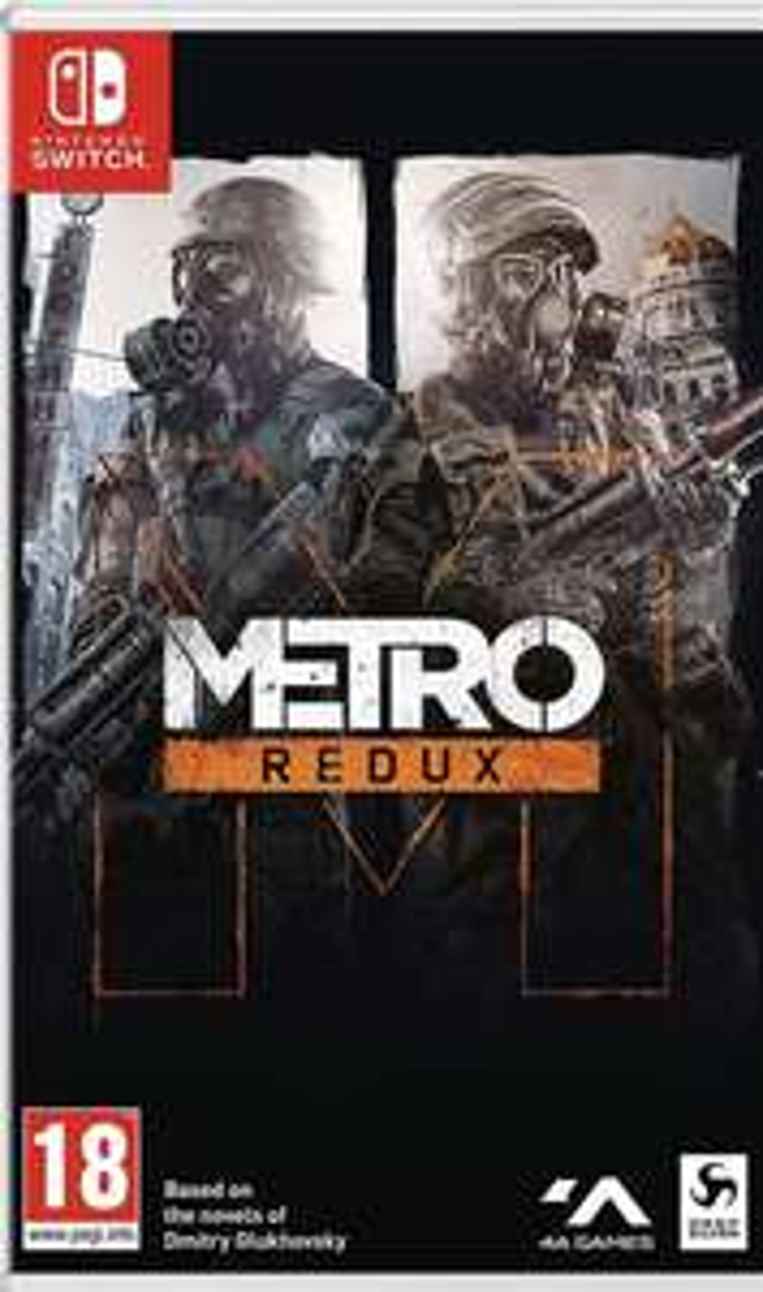 Métro Redux sur Nintendo Switch (Retrait magasin uniquement)