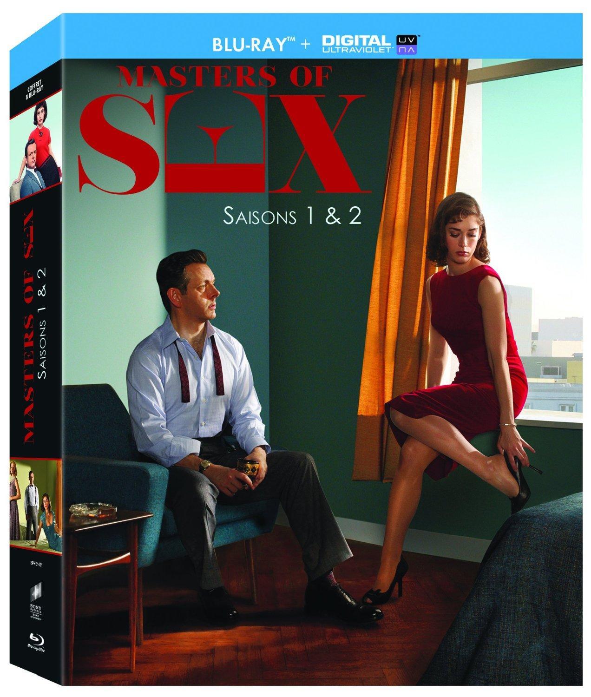 Coffret Blu-ray + Copie digitale Masters of Sex - Intégrale saisons 1 & 2