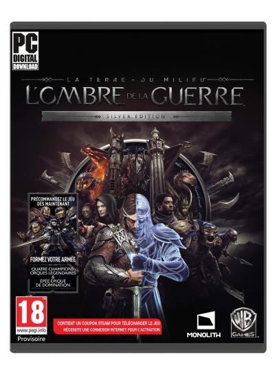 La Terre du Milieu L'Ombre de la Guerre PC Silver Edition sur PC