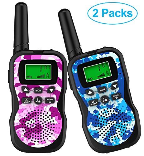 Paire de talkies-walkies GlobalCrown - 8 canaux, portée 3 km (vendeur tiers)