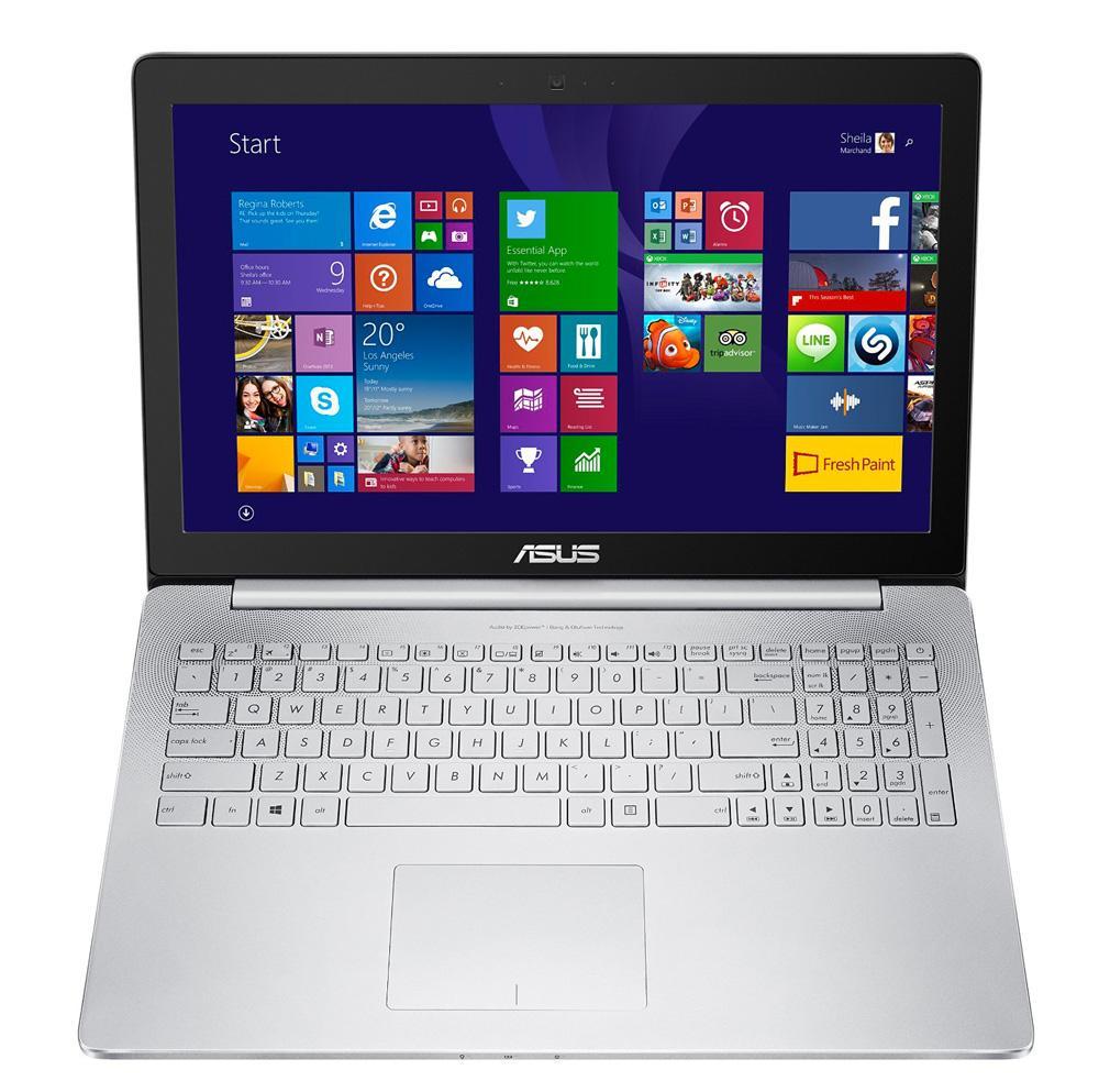 "PC Portable 15.6"" Asus Ultrabook UX501JW-CN484T Métal (Intel Core i7 4750HQ, 8 Go de RAM, Disque dur 1 To + SSD 128 Go, Nvidia GeForce GTX960M, Windows 10)"