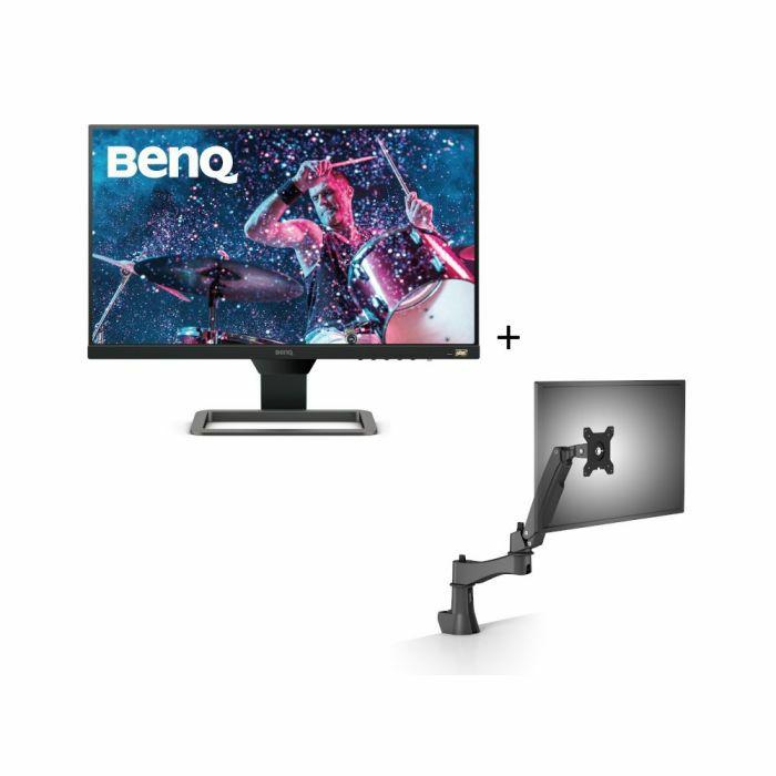 """Bundle Ecran BenQ 24"""" EW2480 (Full HD) + Bras articulé de bureau AS10 (shop.benq.eu)"""