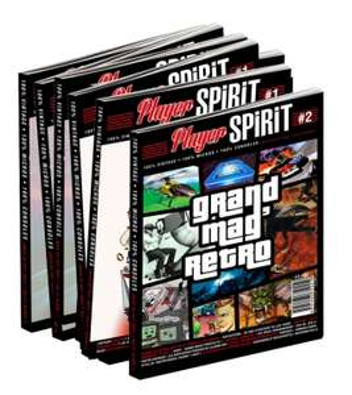 Magazine Player Spirit n°1 à 5 (geeks-line.com)