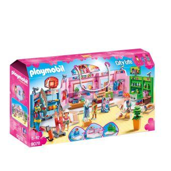 Jeu de construction Playmobil City Life - Galerie marchande (9078)