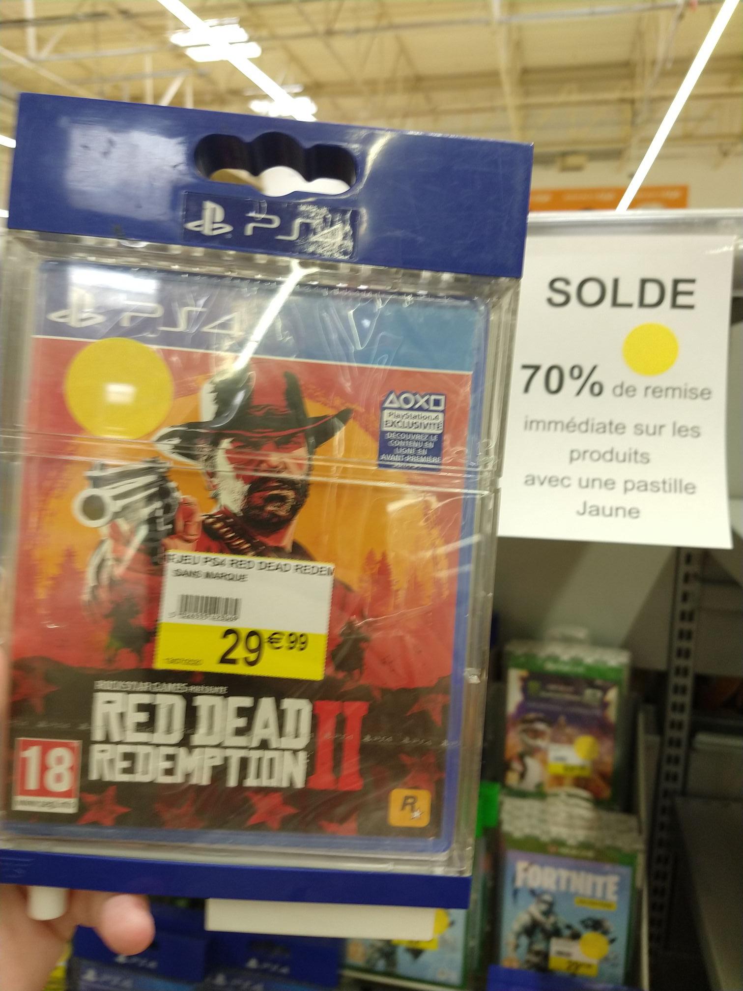 Red Dead Redemption 2 sur PS4 (Reims 51)