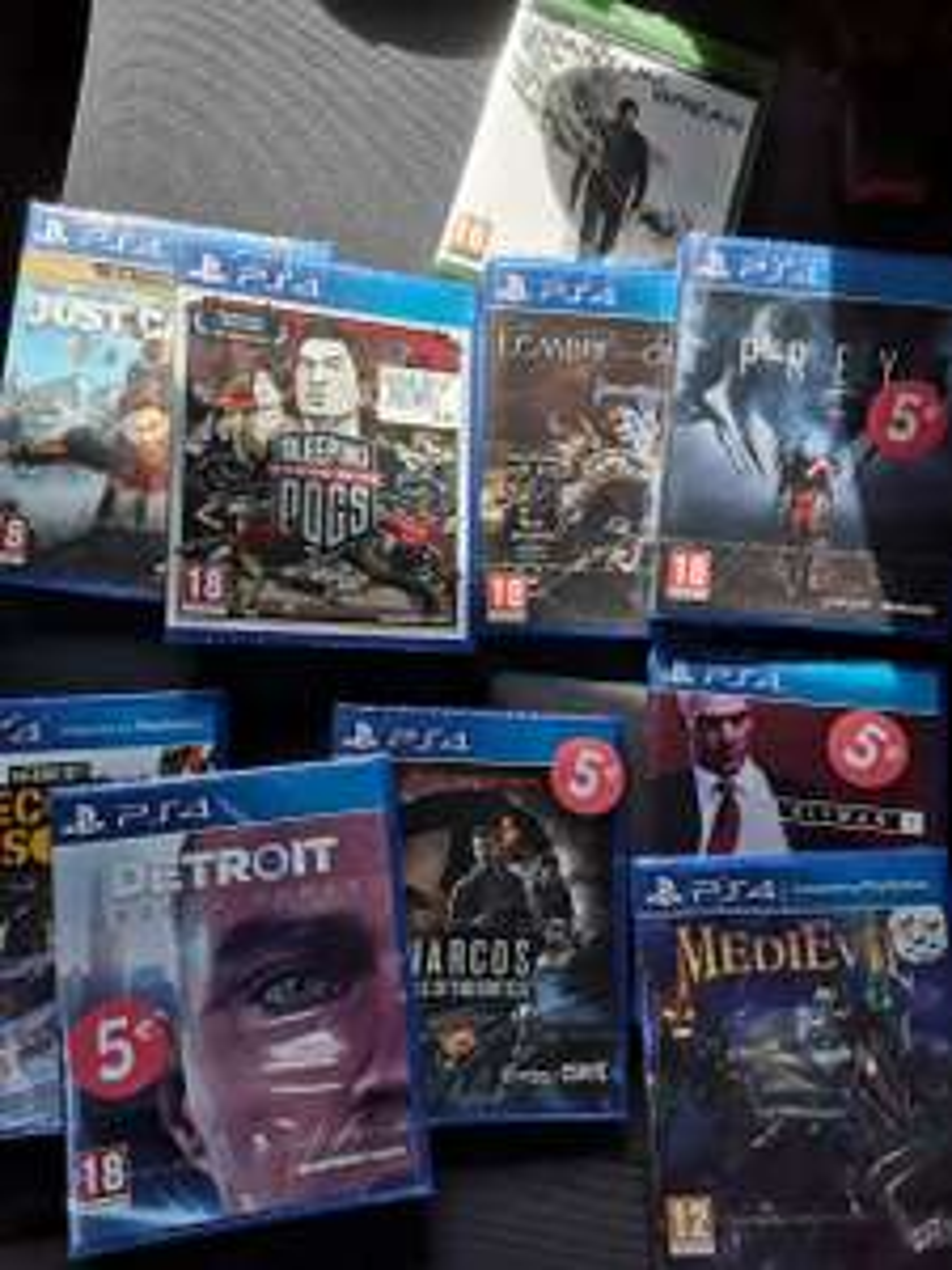 Sélection de jeux Ps4 et Xbox One en promotion - Ex : Detroit Become Human sur PS4 - La Teste-de-Buch (33)