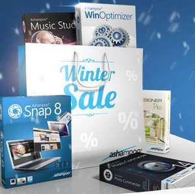 Pack Ashampoo Winter Sales : 100€ d'articles