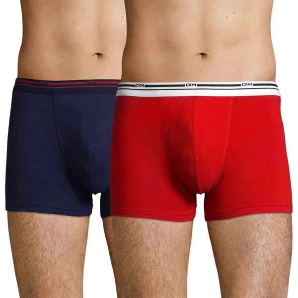 Lot de 2 boxers Homme DIM Daily Colors - plusieurs couleurs