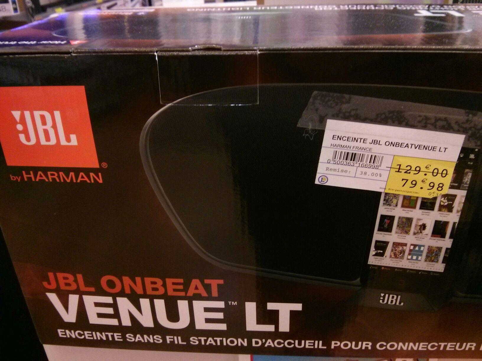 Enceinte sans fil JBL OneBeat Venue LT