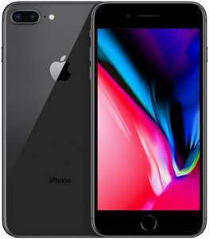 "Smartphone 5.5"" Apple iPhone 8 Plus - full HD, A11, 3 Go de RAM, 128 Go, noir"