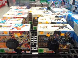Packs Console Nintendo New 3DS - Monster Hunter 4 Ultimate ou Dragon Ball Z Extreme Butoden