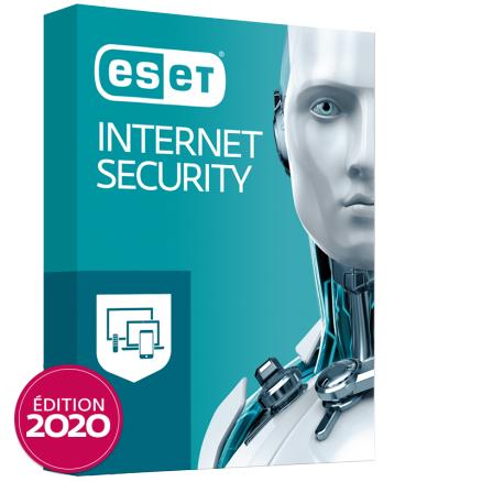 Licence Antivirus ESET Internet Security (Dématérialisé) - Jusqu'à 41% de remise