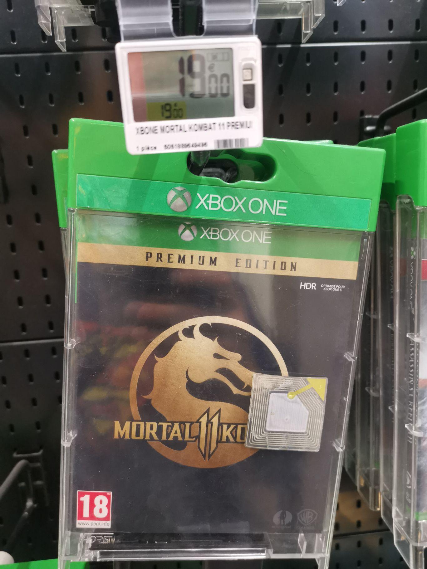 Sélection de jeux Xbox One en promotion (Ex: Mortal Kombat 11 édition premium) - Compiègne 60