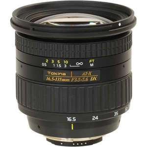 Objectif Reflexe Tokina 16.5-135mm f/3.5-5.6 AT-X DX Monture Canon EF