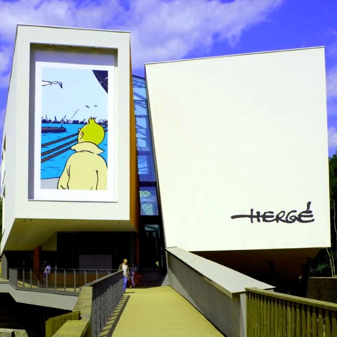 Entrée Gratuite au Musée Hergé tous les dimanches du mois de juillet (Frontaliers Belgique)