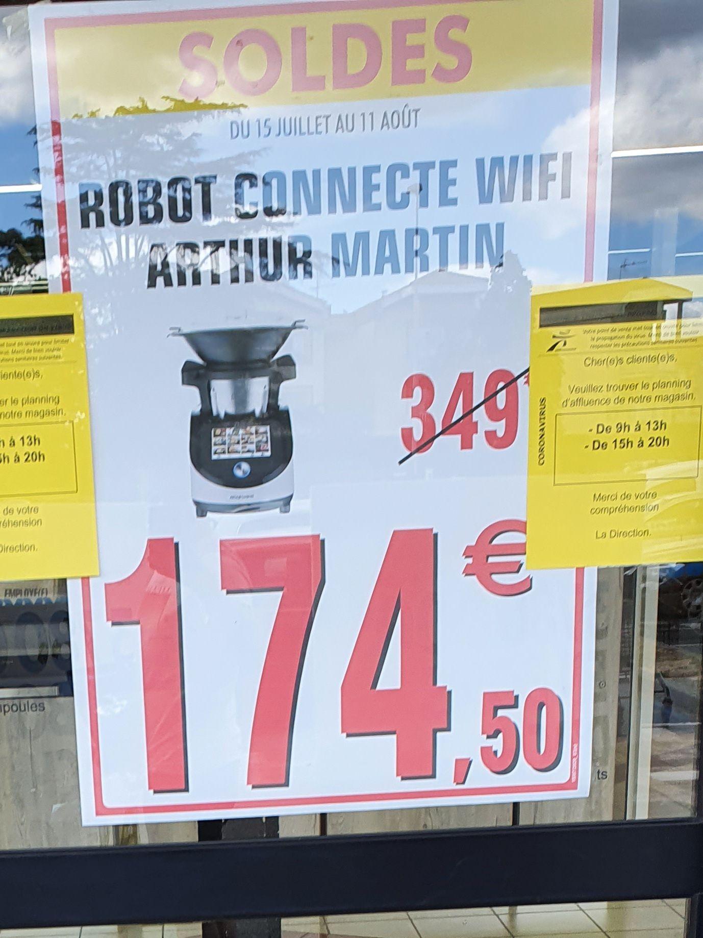 Robot connecté Arthur Martin Digicook