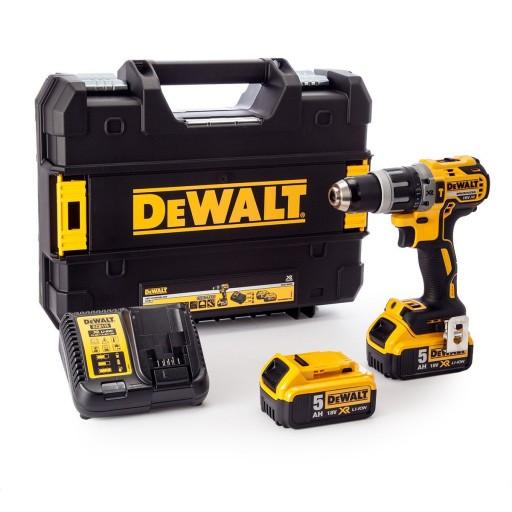 Perceuse Visseuse à Percussion Dewalt DCD796P2 18V XR + 2 Batteries 5,0Ah + Chargeur (toolsense.co.uk)