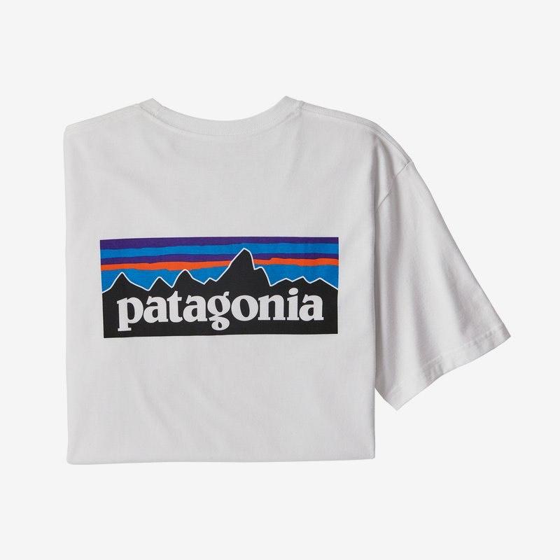 T-Shirt Patagonia P-6 Blanc 2020 - Taille S, L ou XL