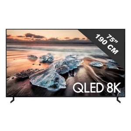 "TV QLED 75"" Samsung QE75Q900R (2018) - 8K, LED, HDR 4000"
