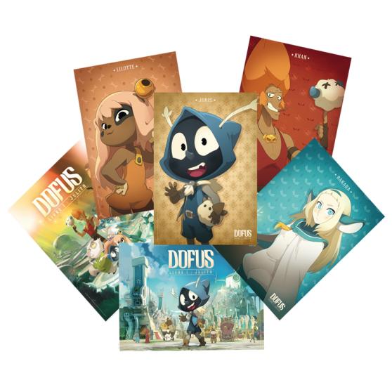 Sélection de produits en promotion - Ex : Pack de 6 posters Dofus Le Film