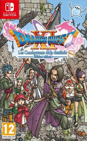Dragon Quest XI S : Les Combattants de la destinée - Édition ultime sur Nintendo Switch (Retrait en magasin)