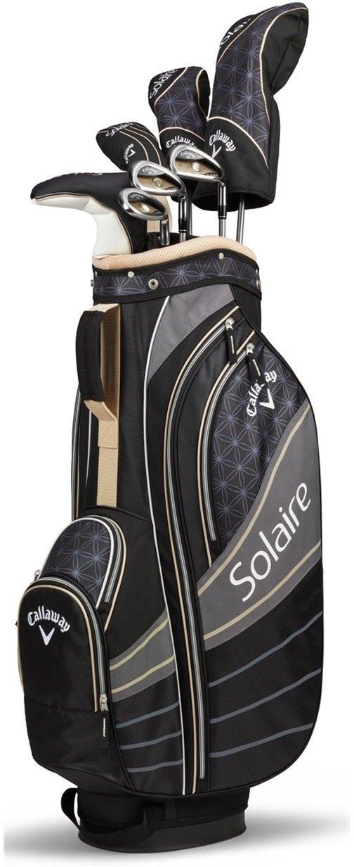Sélection de sets de golf en promotion - Ex : Callaway Solaire Ladies 8 pièces (coloris champagne, main droite)