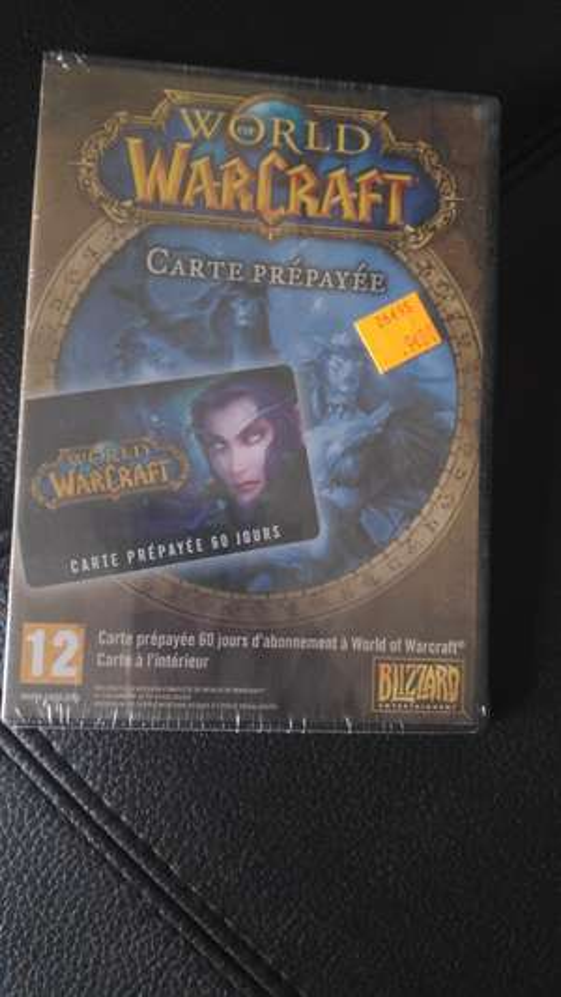 Abonnement pour World of Warcraft (60 jours) - Ivry-sur-Seine (94)