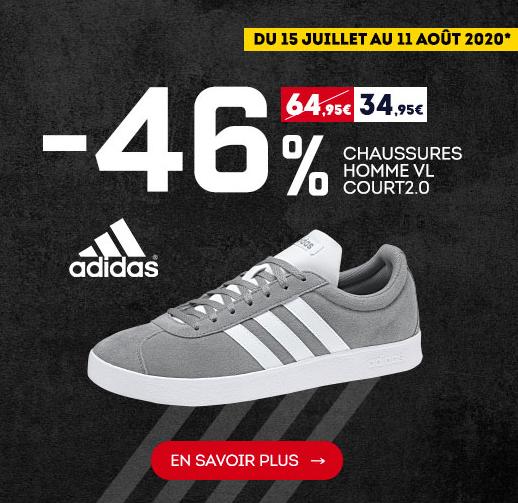 Chaussures homme adidas VL Court 2.0 –