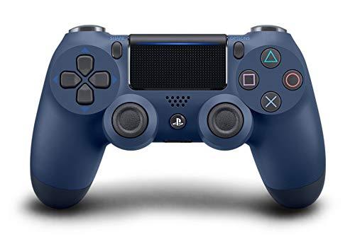 Manette Sony DualShock 4 (V2) - coloris Midnight Blue