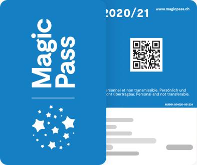 Forfait Magic Pass avec accès illimité à 30 domaines skiables en Suisse (jusqu'en mai 2021, frontaliers Suisse) - MagicPass.ch