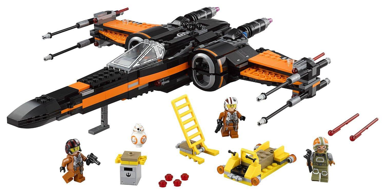 Jeu de construction Lego Star Wars - Poe's X-wing Fighter n°75102