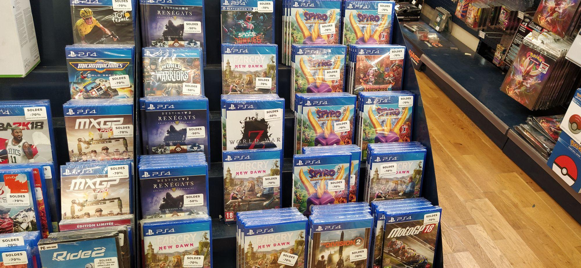 Sélection de jeux en promotion - Ex : Far Cry New Dawn sur PS4 - Mandelieu la Napoule (06)