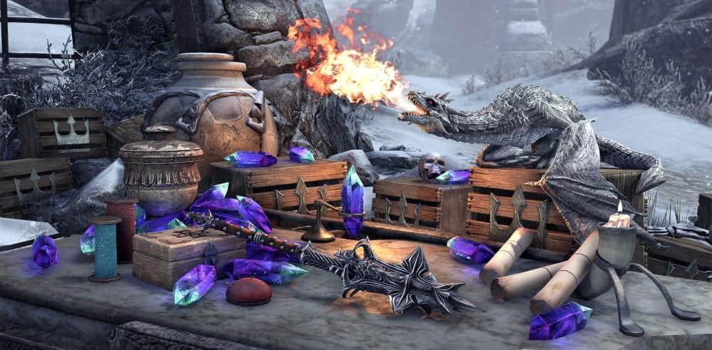 Lot de contenu numérique gratuit pour Elder Scrolls Online (Dématérialisé)