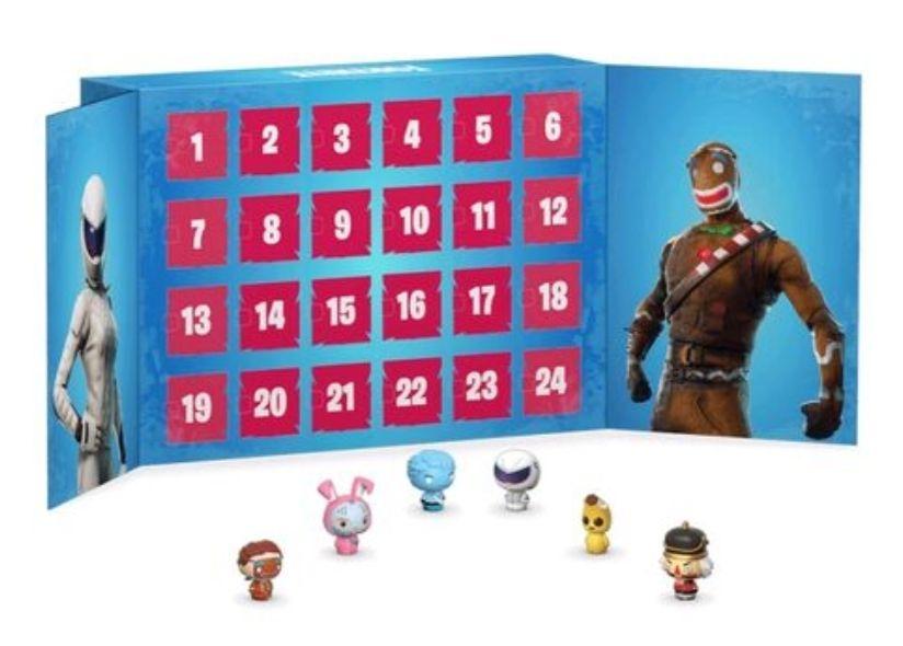 Calendrier de l'avent Funko Pop! Fortnite - 24 figurines